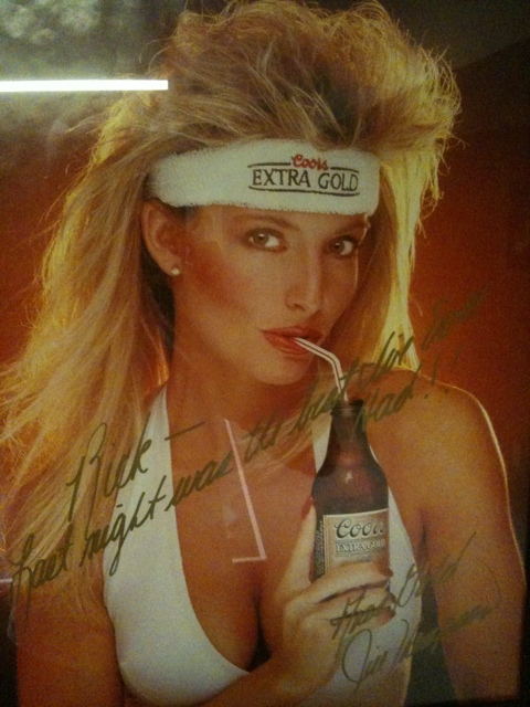 Miss Gold 1988, Coors Extra Gold Spokesmodel