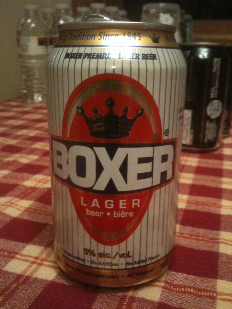 Boxer Beer Wins Dirty Beer Hole