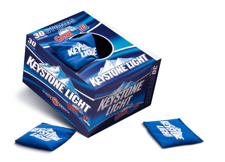 Keystone Light Canhole