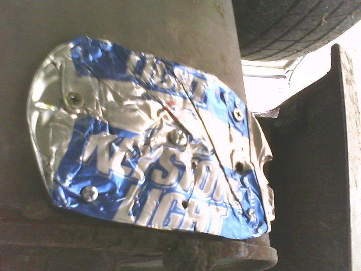 Keystone Light Muffler Patch