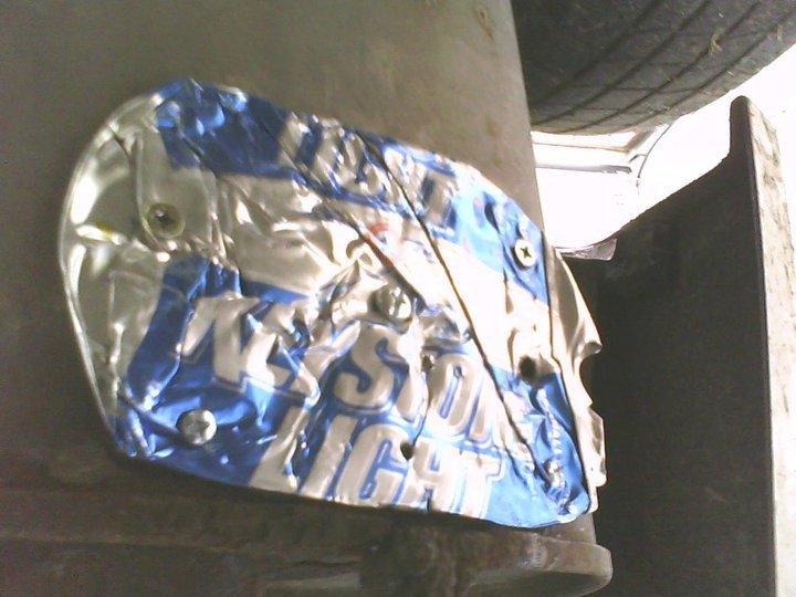 Keystone Light Muffler Patch